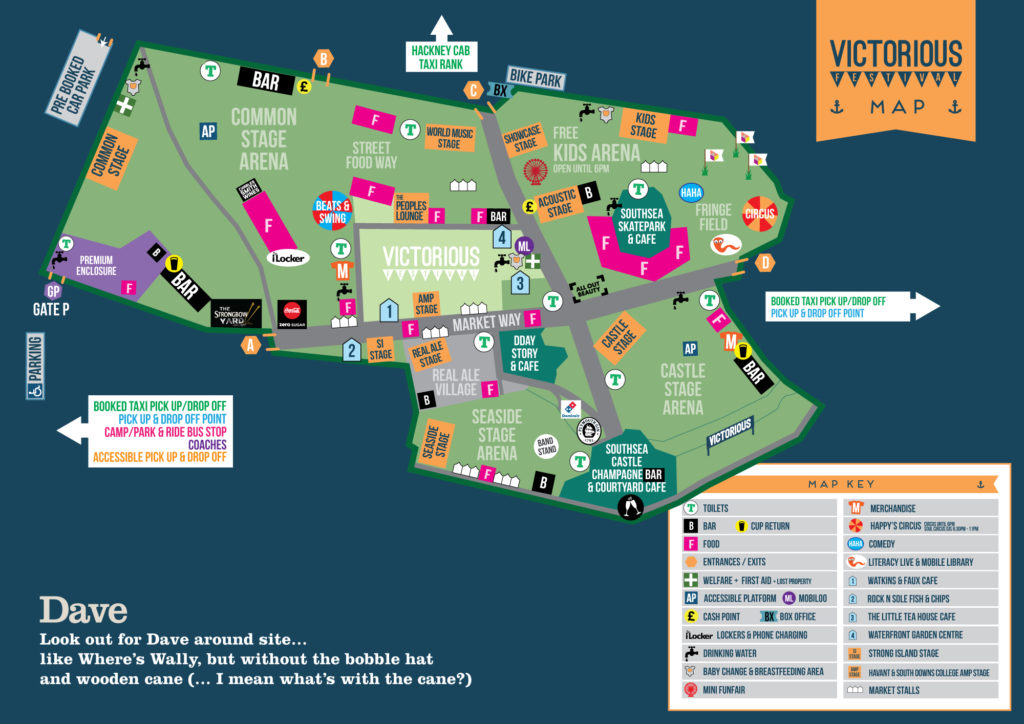 Areas To Explore At Victorious Festival