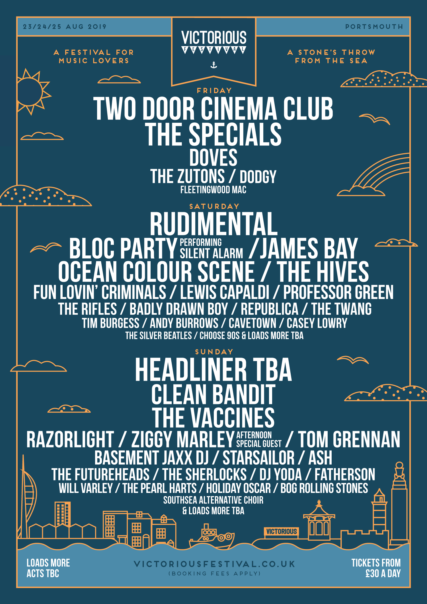 Victorious Line Up 2019 - Second Release