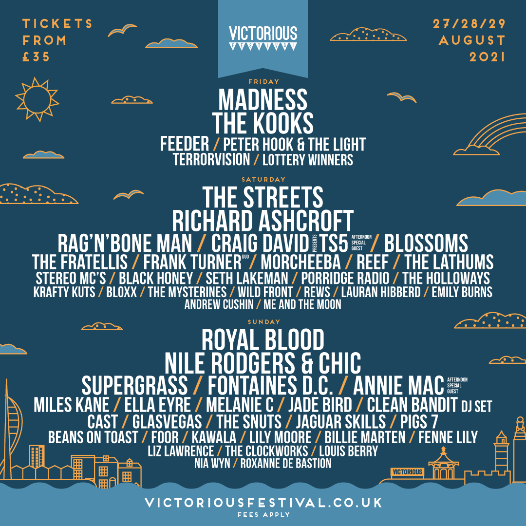 Victorious Line Up 2020 release 2