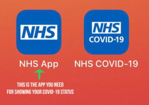 Example of NHS App